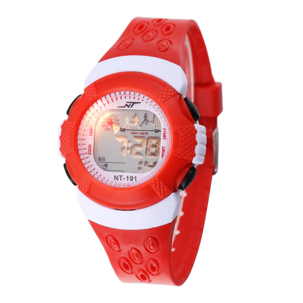 Multi-Function Children Digital Watches Repeater Alarm Students Electronic Clock School Boys Girls LED Wrist Watch Montre Enfant