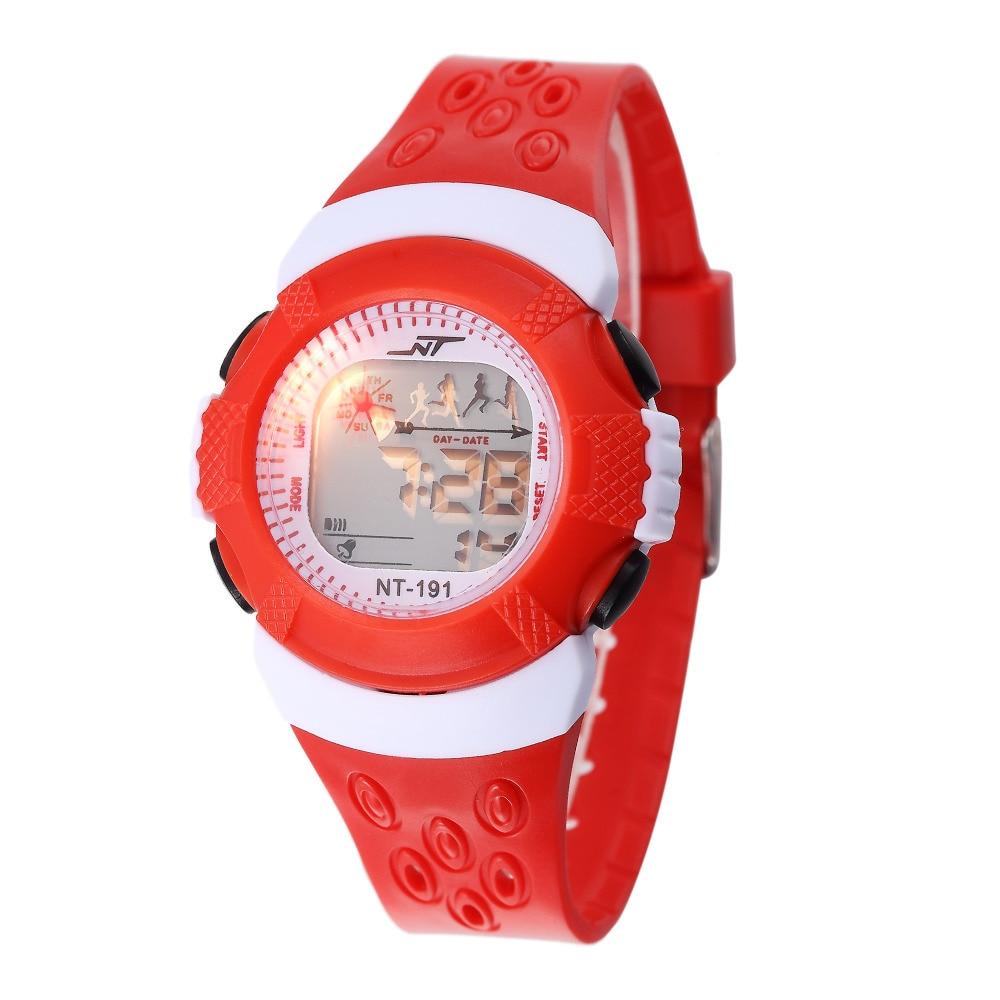 Multi-Function Children Digital Watches Repeater Alarm Students Electronic Clock School Boys Girls LED Wrist Watch Montre Enfant