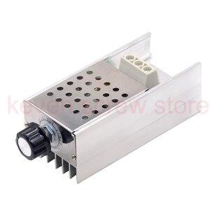 Image 1 - Высокомощный электронный регулятор напряжения SCR BTA10, 10000 Вт, контроллер скорости, электронный диммер
