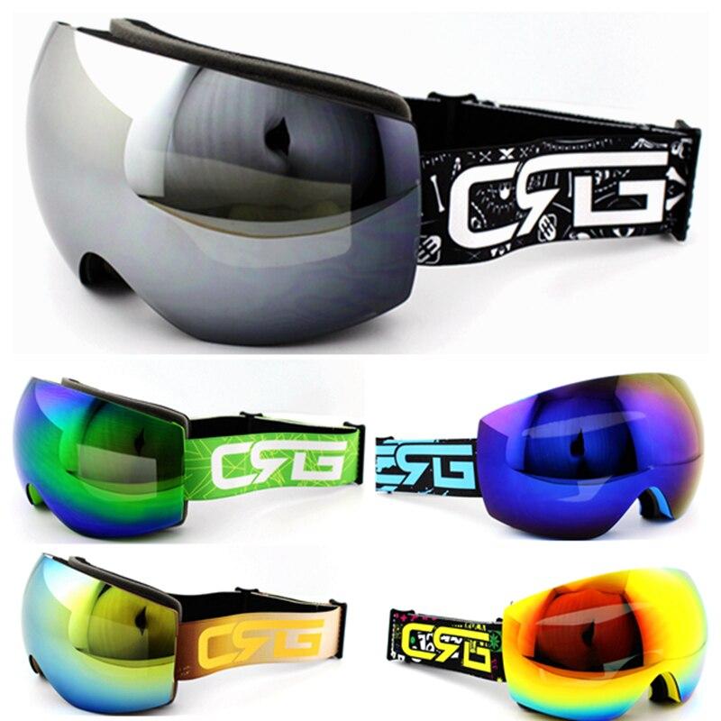 Высококачественные брендовые лыжные очки двухслойные UV400 Анти-туман большой Лыжная маска Очки Лыжный Спорт Для мужчин Для женщин Снег Сноу...