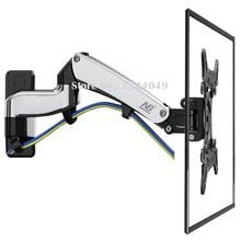 NB F500 Fuel Spring 50-60 inch LED TV Wall Mount Monitor Holder Ergonomical Mount Loading 14-23kgs Max.VESA 400*400mm