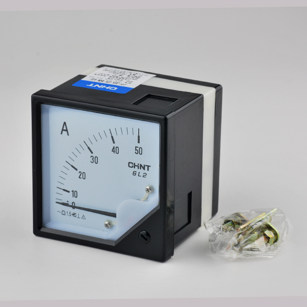 6L2 Model AC 0 50A Analog Ammeter Ampere Current Meter AMP 50A AC 80 ...