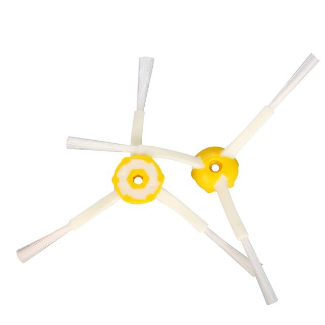 3-Armed szczotka boczna dla iRobot Roomba 500 600 serii 700 528 595 610 620 630 650 660 760 770 780 części do robota odkurzającego