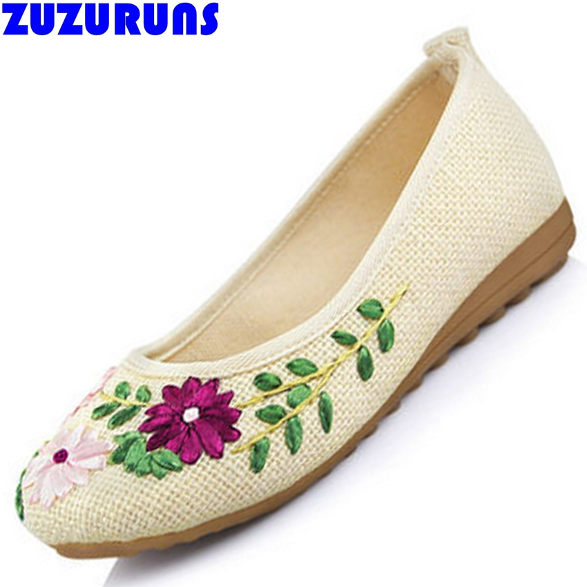 fashion women wedding floral flat sole shoes ladies flats girls cloth upper flowers espadrilles shoes women sapatos mulher 103m vintage embroidery women flats chinese floral canvas embroidered shoes national old beijing cloth single dance soft flats