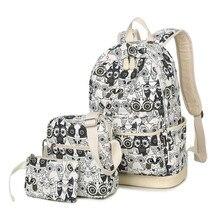 Owl Backpack Fashion Printing Feminine Youth Teenage Backpacks For Teen Girls Boys Women Bagpack Girl Mochila Feminina