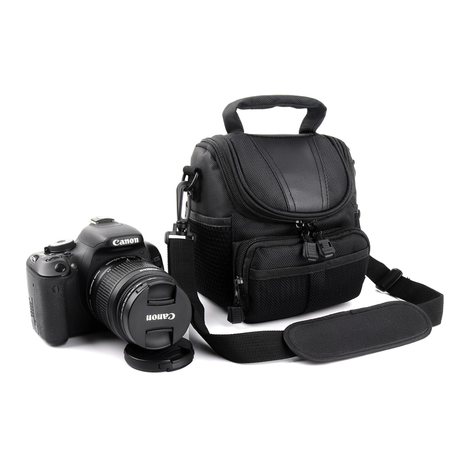 Camera Case Bag For <font><b>Canon</b></font> <font><b>Powershot</b></font> SX60 SX70 SX50 SX40 SX30 <font><b>SX20</b></font> SX540 SX530 SX520 SX510 SX500 HS SX420 SX410 SX400 <font><b>IS</b></font> T7i T6i image