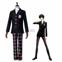 Athemis Game Cosplay Costumes Persona 5 Leader Cosplay Costume Custom Made Size