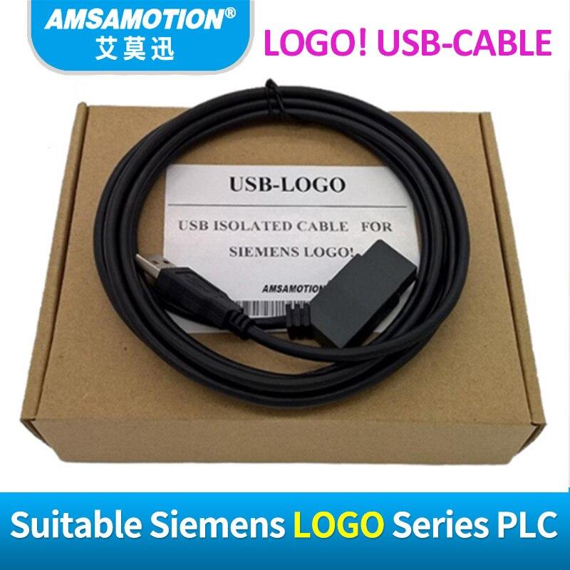 Amsamotion Isolé LOGO Pour Siemens USB-LOGO Série PLC LOGO! USB RS232 Câble LOGO PC-CABLE 6ED1057-1AA01-0BA0 Soutien WIN7