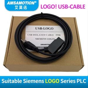 Image 2 - USB LOGO מבודד ללוגו סימנס סדרת PLC תכנות כבל לוגו! USB כבל RS232 כבל לוגו PC CABLE PC 6ED1057 1AA01 0BA0