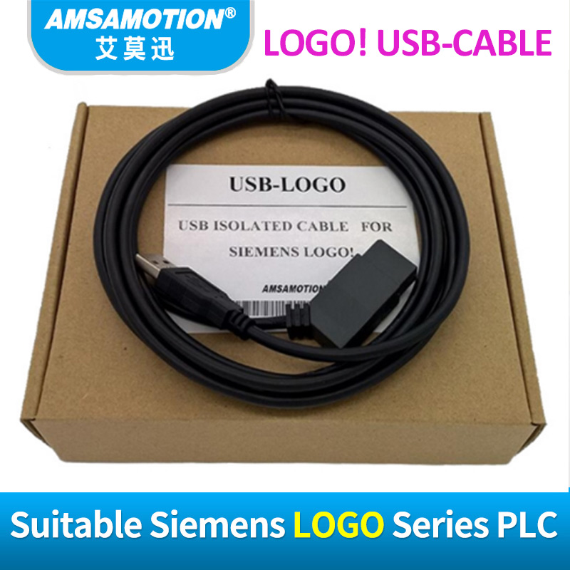 Image 2 - USB LOGO izolowane dla Siemens LOGO serii kabel do programowania plc LOGO! Kabel USB kabel RS232 LOGO PC CABLE PC 6ED1057 1AA01 0BA0logo cablelogo siemenslogo b -