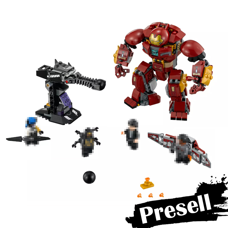 New Lepin 07102 420pcs Super Heroes Series The 76104 The Hulkbuster Smash-Up Set Building Blocks Bricks Toys For Kids Marvel 2018 new fashion winter jacket men long thick warm cotton padded jackets coat parka overcoat casual outwear jacket plus size 6xl