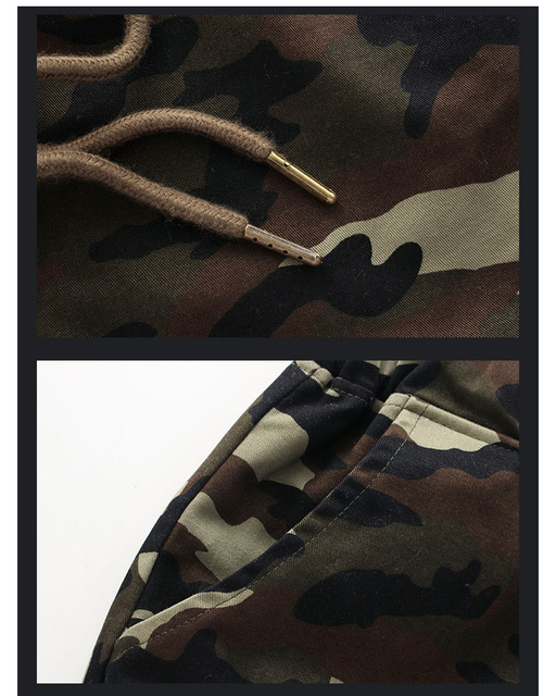 new arrivals fashion men camouflage military pants joggers sweatpants   trousers 5XL ACL24 8