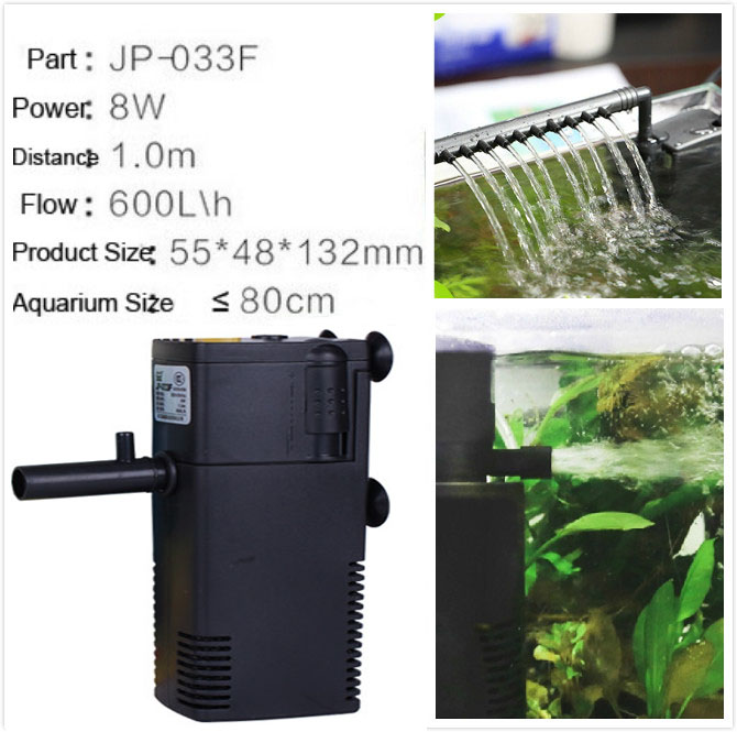 8w Ultra Quiet Aquarium Filters 600l H Fish Tank Oxygen