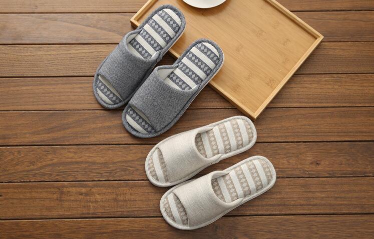 Para Grosso Pelúcia Interior Sapatos L14 Marrom 2019 Cinza Casa 15 Algodão l15 Homens L14 Chinelos De Slides Inferior Os Plana q1TOw8p