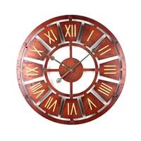 Homingdeco 40CM/ 58cm Large Wall Clock Vintage Home Decor Quartz Watch Mechanical Gear Silent Wall Clocks For Living Room