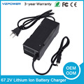 67.2V 1A 1.5A 2A Lithium Ion Battery One Wheel Electric Self Unicycle Scooter Charger