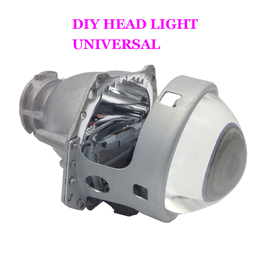 Universal Car Styling Aluminum Motorcycle 3 0 Inches For Headlamp Hella Projector Lens Car Hid Xenon