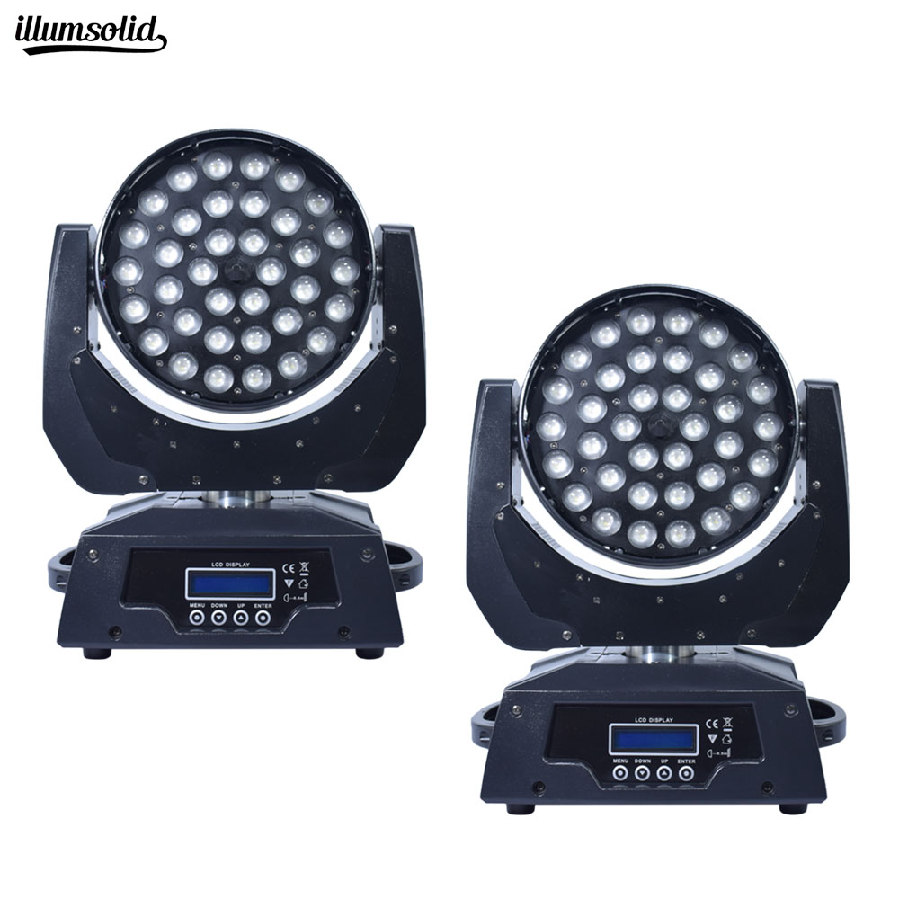 36x12w Led RGBW 4in1 Wash Zoom Light DMX512 Moving Head Light Professional DJ Bar Party Show Stage Light LED Stage Machine36x12w Led RGBW 4in1 Wash Zoom Light DMX512 Moving Head Light Professional DJ Bar Party Show Stage Light LED Stage Machine