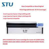 NPG 59 NPG59 1PC New Toner Cartridge for Canon IR 2204N 2204L 2204AD 2002l 2202 2002G 2202DN 2206 IR2204 IR2002 IR2202 IR2206