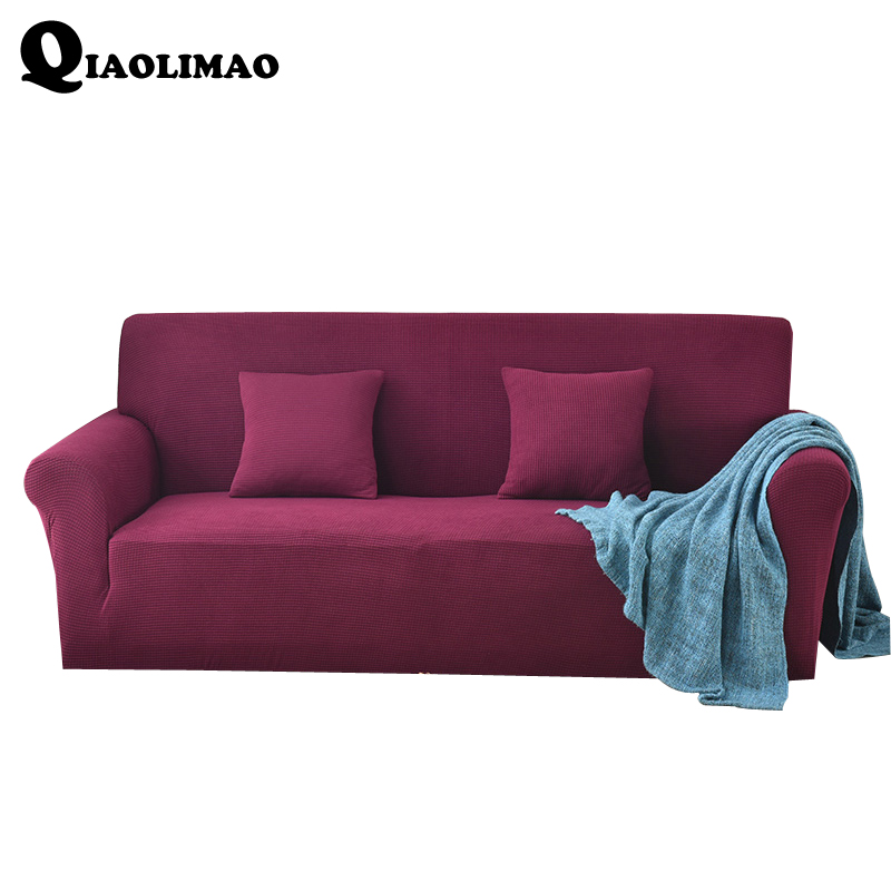 New Spandex Stretch Fabric Sofa Set All-inclusive Universal Sofa Cover All Cover Towel European Summer Leather Sofa Cushion Slip