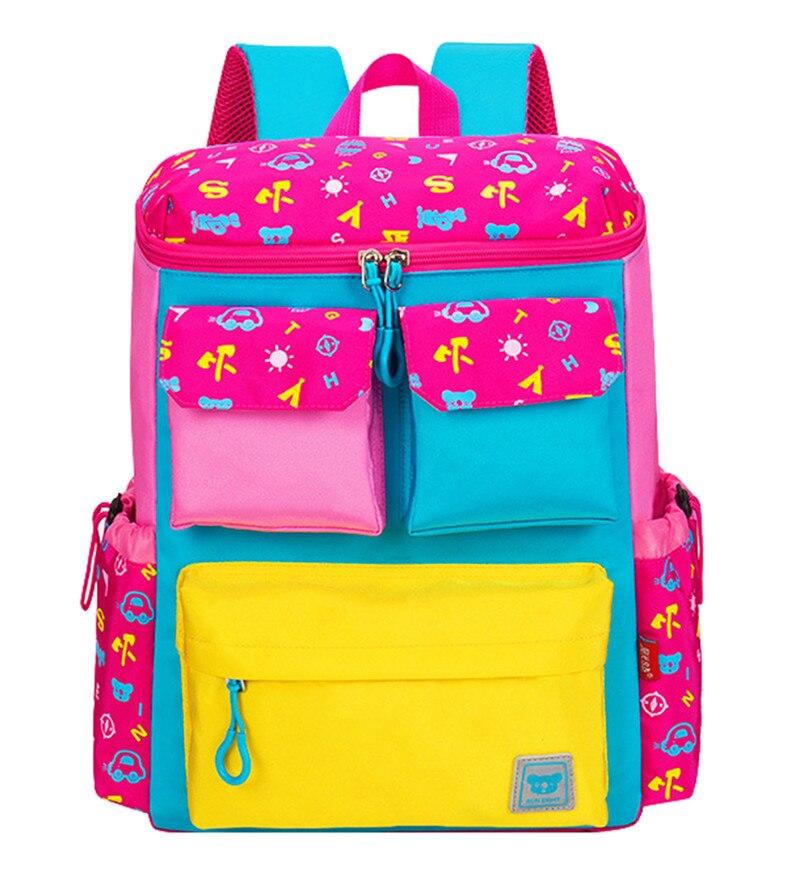 Cute Girls Backpacks Kids Satchel Children School Bags For Boys Orthopedic Waterproof Backpack Child School Bag