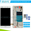 White Full LCD For Huawei P8 Lite Display Pantalla for huawei p8 lite lcd Touch Screen Digitizer Glass + Frame Assembly/Tools