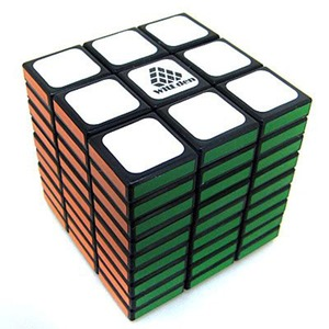 Image 1 - Leadingstar witécia cubo mágico profissional, cubo mágico 3x3x9 de 58mm, aprendizagem anti estresse brinquedos clássicos educativos