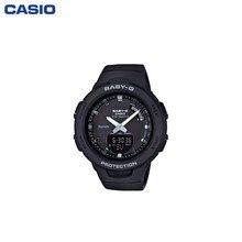 Наручные часы Casio BSA-B100-1AER женские кварцевые на пластиковом ремешке