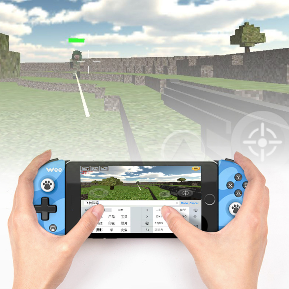 FlyDiGi Bluetooth Wireless Game Controller Gamepad Adjustable Ergonomics For iPhone For Android Battery Control Joystick flydigi x9et pro non vibration mobile game handle controller