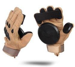 Downhill Skateboard Gloves Roller Safety Gear Longboard Slide Gloves With Slider Skate Accessoriesg For Peny Long Board