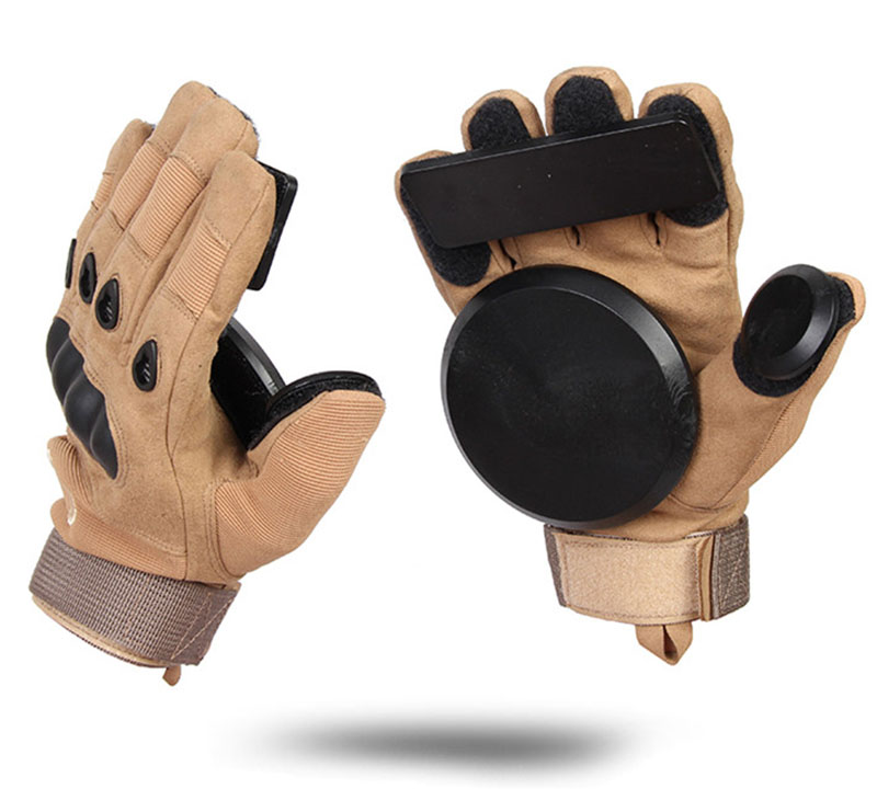 Tactical Glove Skateboard Gloves Slide Gloves With Slider Brake gloves Roller Safety