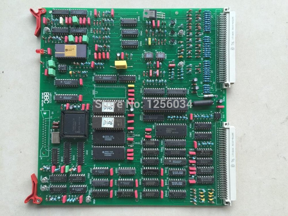 free shipping Heidelberg 102 main motor motion control board SRK HR1002/HR2000 board 91.101.1011 цена 2017