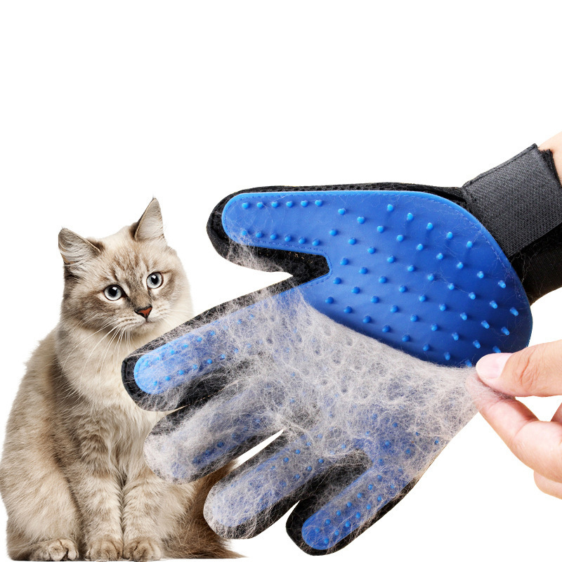 Silicone Pet Grooming Glove For Cats hair Brush Comb Cleaning Deshedding Pets Products for Cat Dog Removal Hairbrush For Animals|Cat Grooming| |  - AliExpress