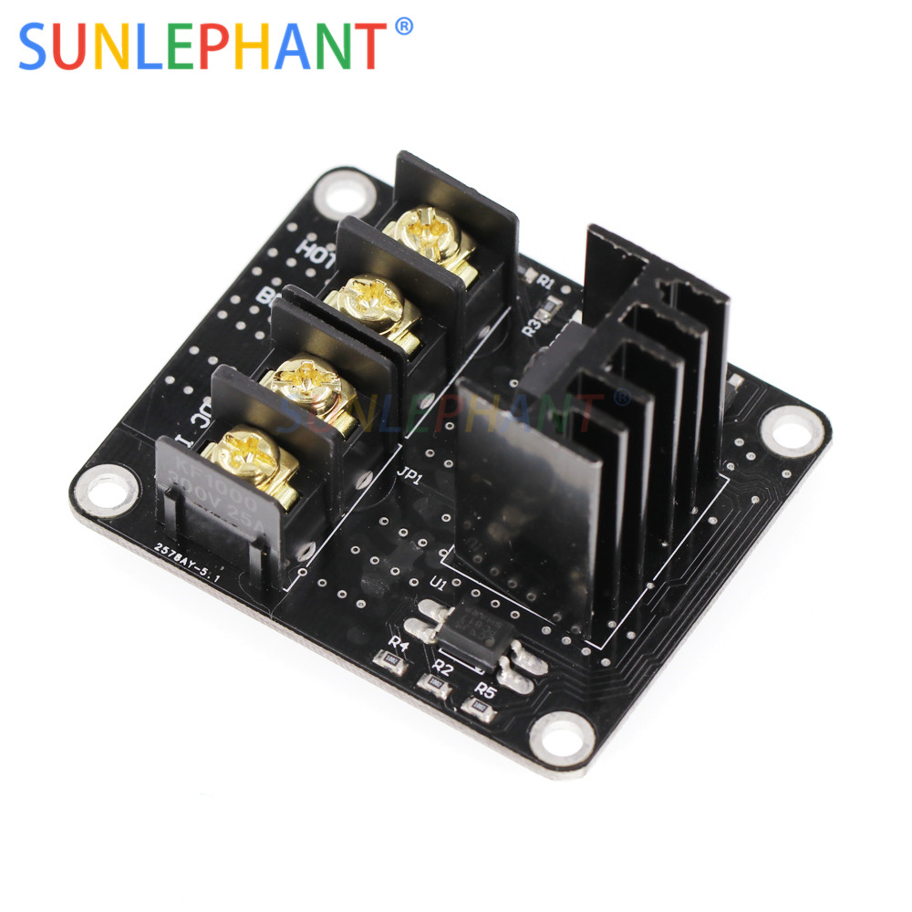 Image 5 - Heated Bed Power Module /Hotbed MOSFET Expansion Module Inc 2pin Lead With Cable for Anet A8 A6 A2 Ramps 1.4-in Integrated Circuits from Electronic Components & Supplies