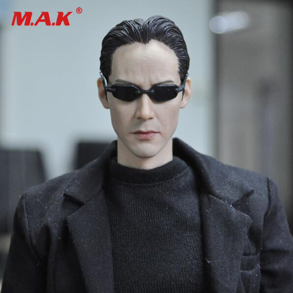 For Collection KMF034 1/6 Scale Full Set Collectible The Matrix Keanu Reeves Action Figure For Fans Toys Gift