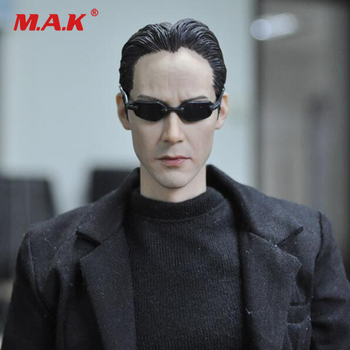 For Collection KMF034 1/6 Scale Full Set Collectible The Matrix Keanu Reeves Action Figure for Fans Toys Gift for collection solider action figure full set 1 6 78047b russian spetsnaz fsb alpha group male figure standard ver