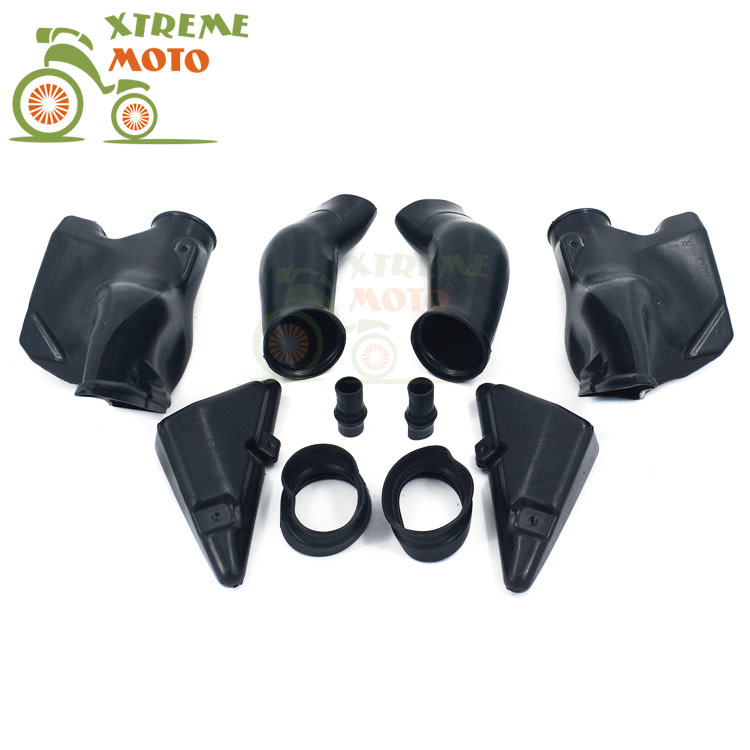 Motorcycle Air Intake Tube Duct Cover Fairing For HONDA CBR600RR F5 2005-2006 2005 2006 05 06 auto side air vent fender decoration sticker cover hole intake grille duct flow