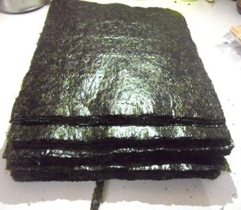 50PCS / Set Top Quality Sushi Seaweed, Japanese Seaweed Sushi Dry Green Food, Hot Sushi Kelp Snacks Wholesale Free Shipping