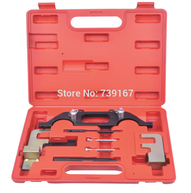 Engine Camshaft Crankshaft Locking Alignment Timing Tool Kit For RENAULT Espace 2.2 Master 2.2 / 2.5 DCI ST0138 engine camshaft alignment timing tool kit for audi vw 2 0l fsi tfsi