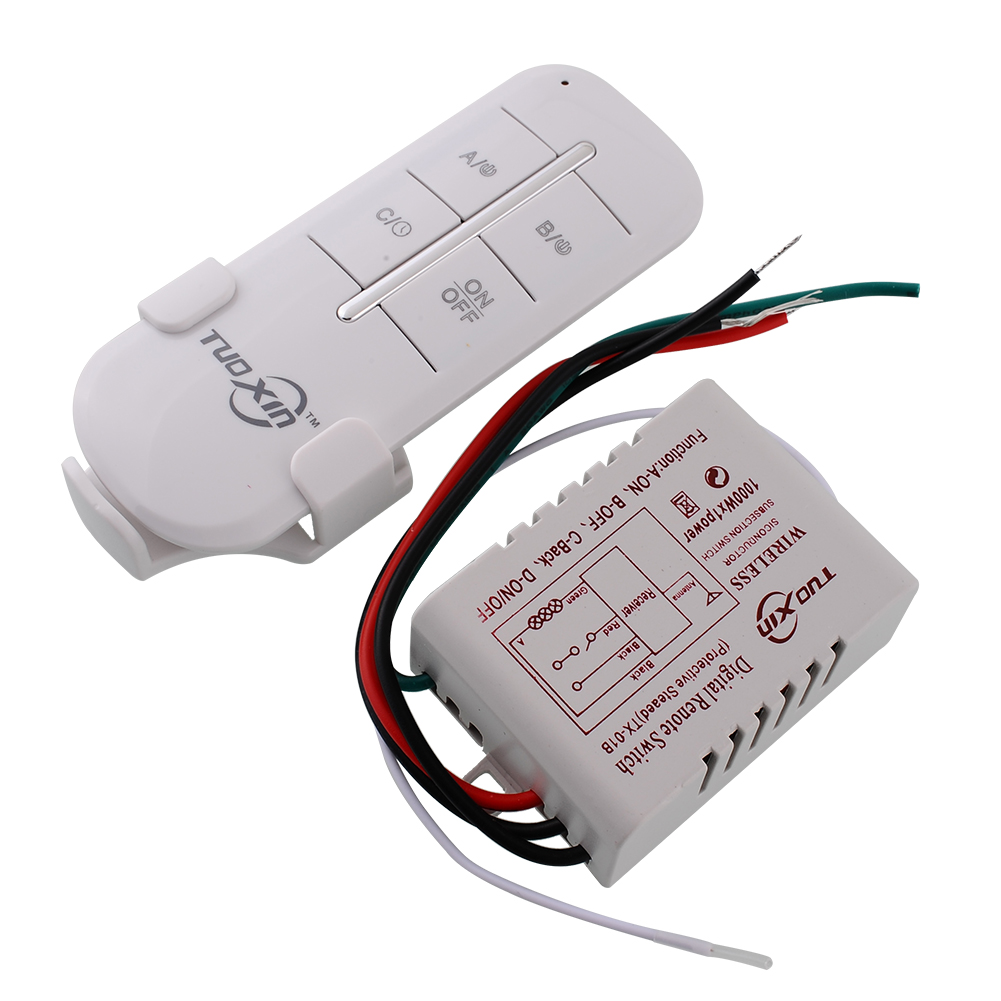 1 Channel Way Onoff Wireless Light 110v Home Corridor New Switch