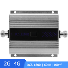 цена на Mini 2G 4G 1800 LTE DCS Repeater Cell Signal Booster Amplifier 4G 1800mhz Cellular Signal Booster Amplifier LCD Display /
