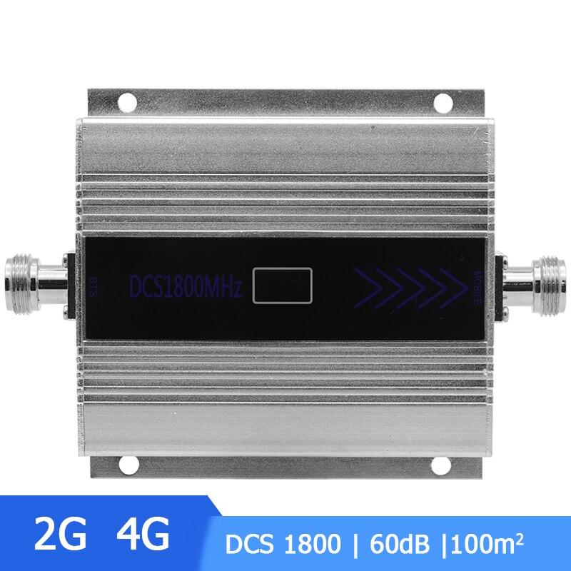 Mini 2G 4G 1800 LTE DCS répéteur amplificateur de Signal cellulaire 4G 1800 mhz amplificateur de Signal cellulaire amplificateur LCD affichage/