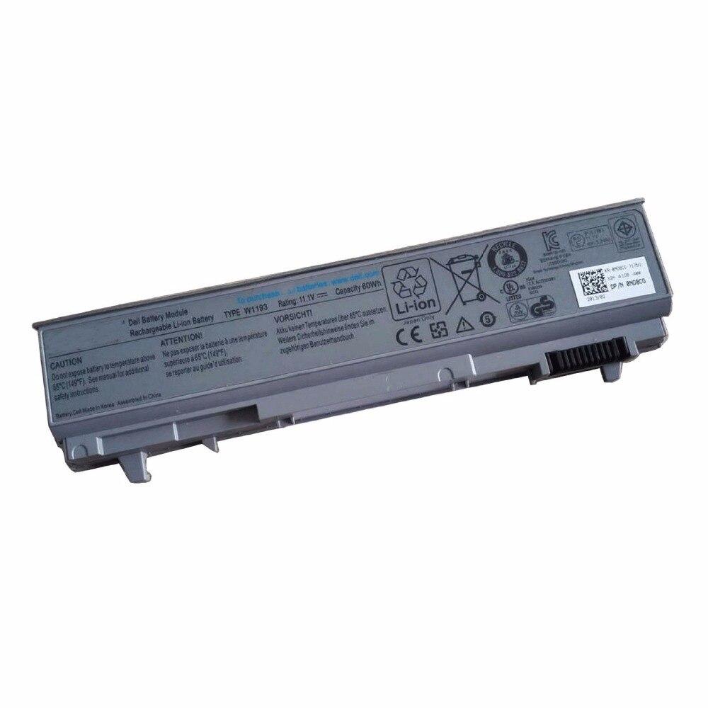 IECWANX 100% new Laptop Battery W1193 (11.1V 60Wh) for Dell Latitude E6400 E6410 E6500 E6510 Precision M4500 M4400 Laptop