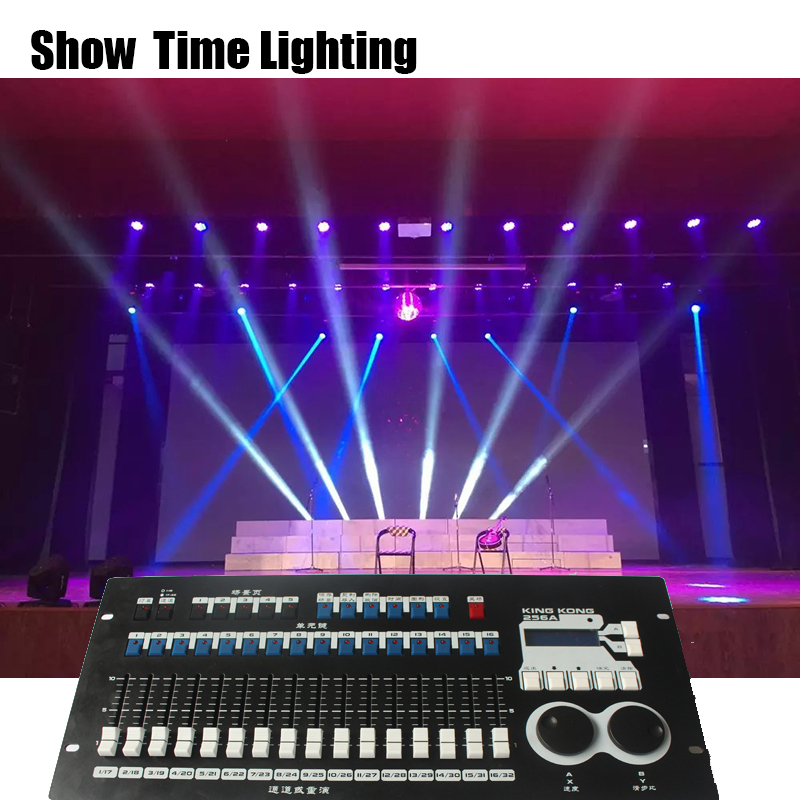 Powerful built in program professional DMX 512 Master controller 16 faders stage lighting console easy ship and make light show in Stage Lighting Effect from Lights Lighting