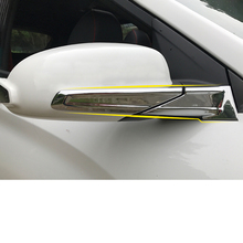 Lsrtw2017 Abs Car Rearview Trims  for Hyundai Encino Kona 2018 2019 2020
