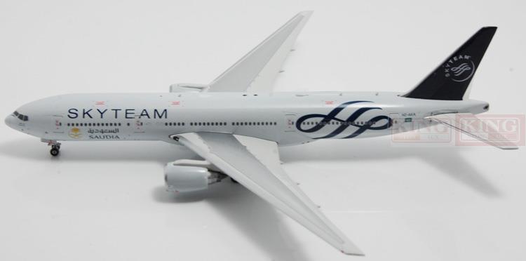 Phoenix 11044 B777-200ER 1:400, SkyTeam Airlines commercial jetliners plane model hobby