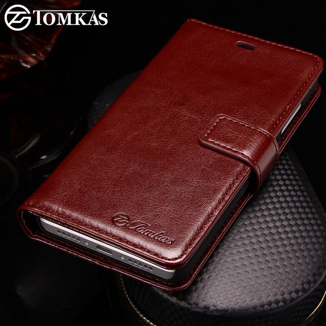 Tomkas Ponsel Case untuk Coque Xiaomi Redmi 4 PRO Redmi 4 Kasus Flip Cover Kulit Dompet Case untuk Xiaomi Redmi 4 4Pro Perdana