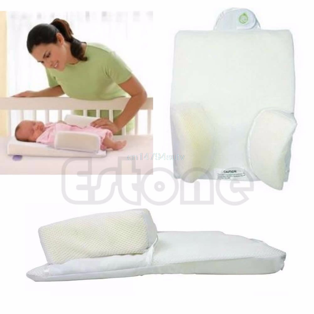 Newborn Baby Sleep Fixed Position And Anti Roll Pillow 1
