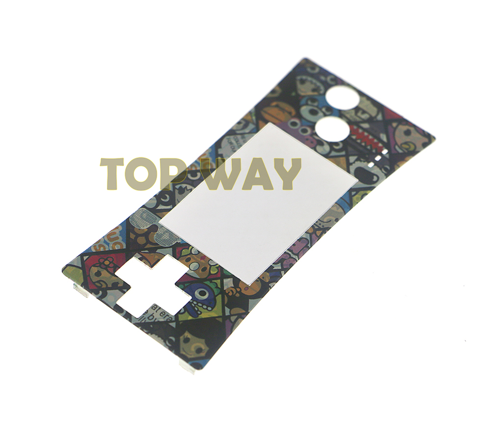 ChengChengDianWan For GameBoy Micro for GBM Faceplate Cover Case Shell Front Shell Cover Replacement new design