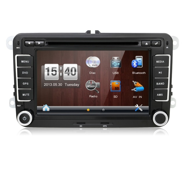 autoradio 2 din car dvd vw navigation for volkswagen golf 4 golf 5 6 polo passatcc jetta tiguan. Black Bedroom Furniture Sets. Home Design Ideas